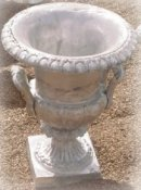 outdoor cast urn